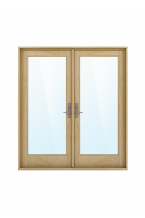 Swinging French Doors