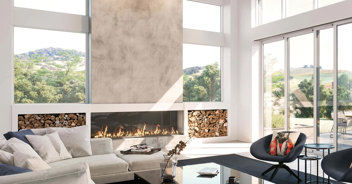 Modern Home Window Walls